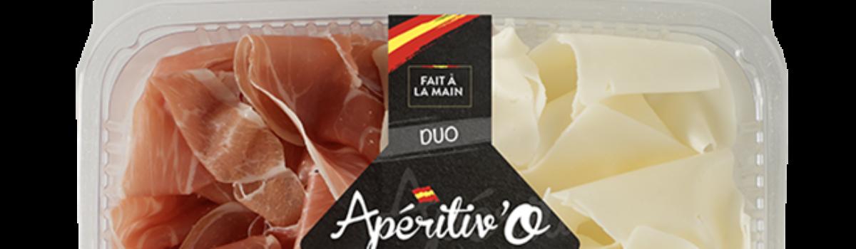 Plateau Duo<br/>jambon Serrano <br/>& fromage espagnol