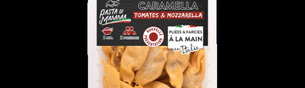 Caramella<br/>tomate & mozzarella