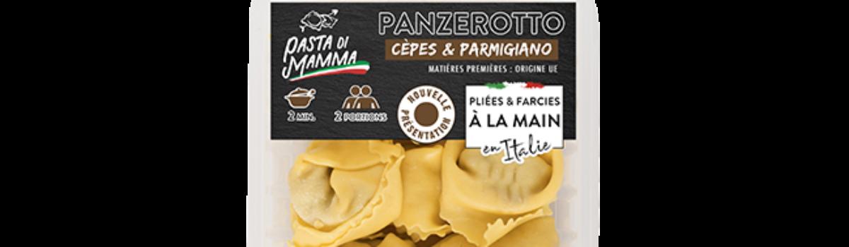 Panzerotto<br/>aux cèpes & parmigiano