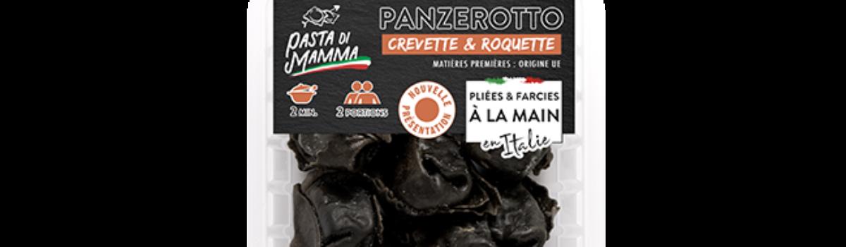 Panzerotto<br/>crevette & roquette