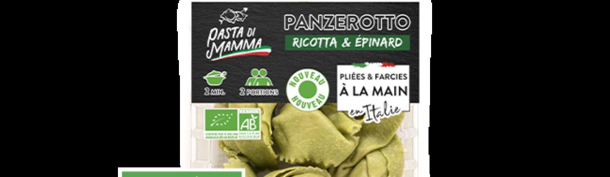Panzerotto<br/>Ricotta Épinard BIO