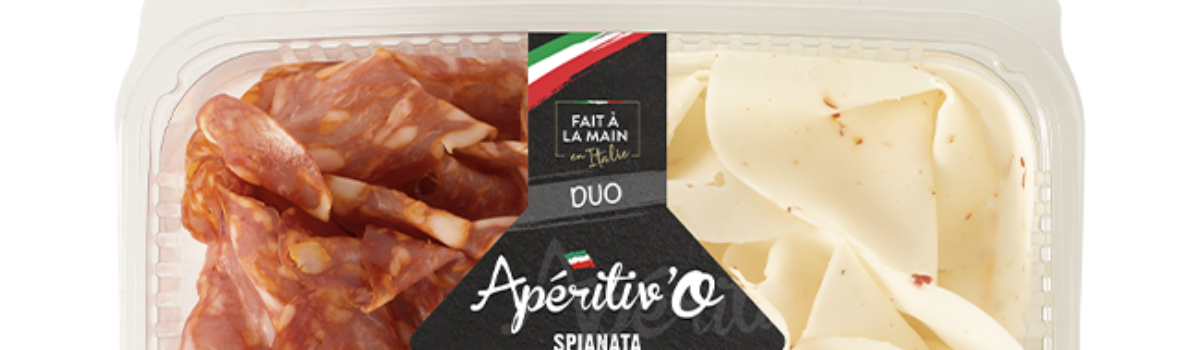 Duo<br/>Spianata & fromage piquant