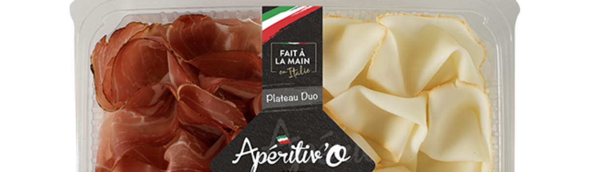 Plateau Duo 160g<br/>Speck & Scamorza